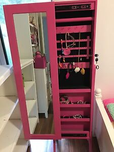 Mirror on stand - girls room Mudgeeraba Gold Coast South Preview