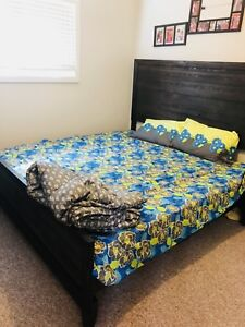 King size brand new bed