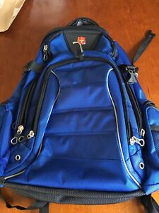 Neuf! Sac à dos Swiss Gear bleu royal
