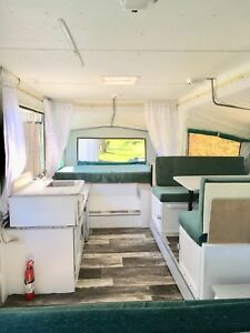 Clean and fresh  camper trailer for sale