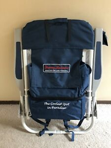 Brand New Tommy Bahama Backpack Beach / Camping Chair