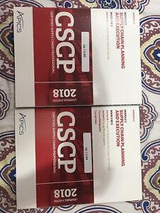 Apics CSCP books and CD ROM for sale