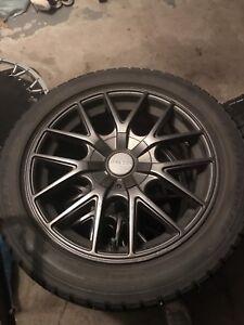 "17"" Touren rims on winters"