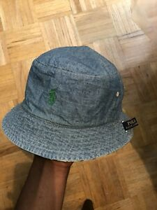 Reversible polo bucket hat