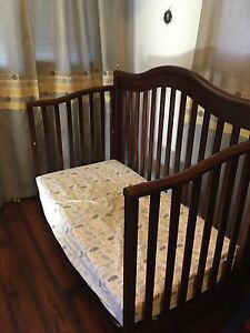Two in one crib