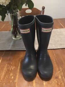 Hunter Boots Size US 12 Girls