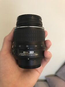 Nikon DX Nikkor 18-55mm automatic lens (as is)