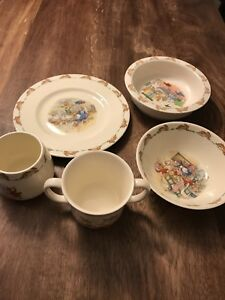 Royal Doulton 5 Piece Bunnykins set