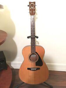 Yamaha Acoustic Guitar ($249 OBO)