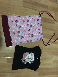 Size 4-5 frozen top and pillow dress