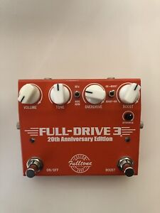 Fulltone Full Drive 3 20th Anniversary Edition