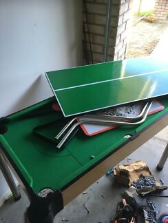 Kids pool table and games
