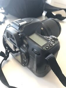 Nikon D80 like new with 2 lenses, only 2621 shutters