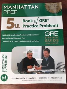 GRE Strategy Guide Supplement Manhattan Prep
