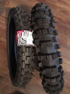 """Two brand new 14"""" MX tires 80/100 14"""" and 60/100 14"""""""