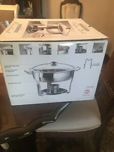 5 quart chafing dishes for sale (5 in total, $32 each)
