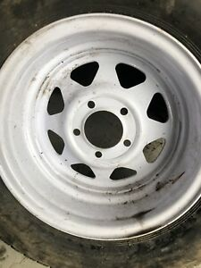 Brand new trailer tire