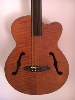 Wanted: Fretless acoustic bass guitar