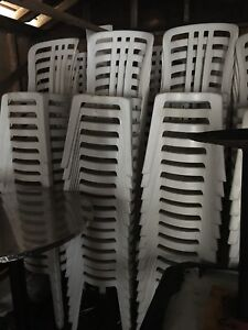 $25 each Outdoor patio (wedding) chair - many available