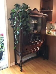 Antique buffet armoire
