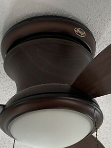REDUCED PRICE AGAIN!!!! Hunter Light Ceiling Fan - Cappuccino