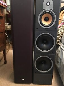 Bowers & Wilkins + Rotel surround system