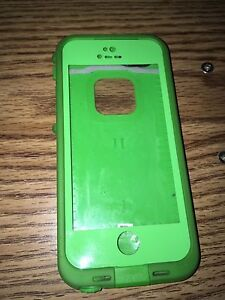 Green Lifeproof for iPhone 5/5s/SE (good condition)
