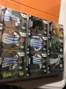 Large lot of 2014 prism world cup soccer cards