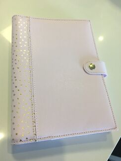 Kikki k A5 refillable notebook with leather cover