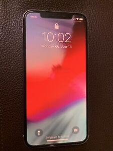 Apple iPhone X 256gb white unlocked
