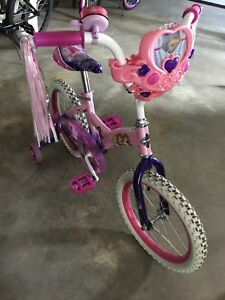 "12"" Girls Disney Princess Bike"
