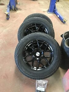 StuddedWinter Tires with allow Rims ( 235x65R17) plus 1 tire
