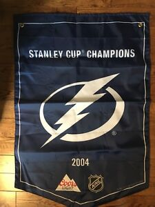 Tampa bay Stanley cup banner