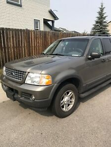 Well maintained 2003 Ford Explorer XLT in good condition