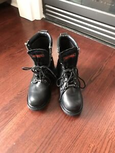 Harley Davidson leather boots men's size 9