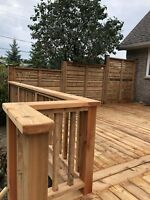 Decks Fences Concrete Sheds& more