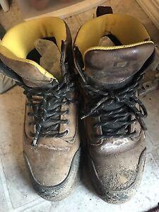 Men's Size 9 Steel Toe Boots
