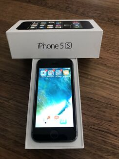 EXCELLENT CONDITION SPACE GREY IPHONE 5S 64G!