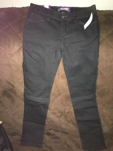 NWT girl's  new black skinny jeans size 7 (Old Navy)