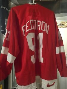 brand new 240cf a7025 Detroit Red Wings Jersey - Nike