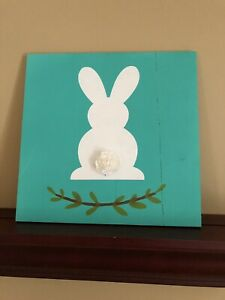 Customized Easter Bunny Sign