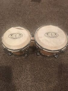 BONGOS 6 and 7 inch - tear on one can be replaced