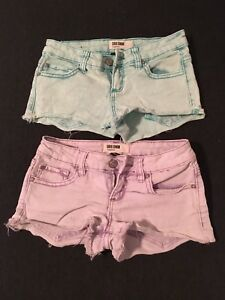 Four pairs of Garage shorts