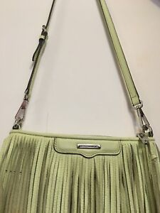 AUTHENTIC REBECCA MINKOFF FRINGE CROSSBODY PURSE
