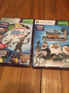 Xbox 360 Kinect games *New