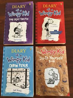 Kmart diary only used one sticker other books gumtree childs diary of a wimpy kid books x 4 new solutioingenieria Choice Image