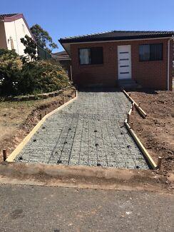 Concreting, Formwork, steel fixing