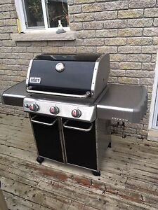 Webber natural gas BBQ.