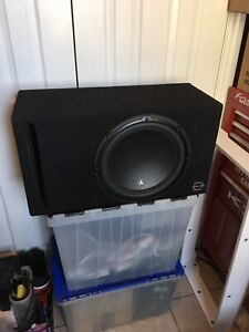 "12"" JL Audio W3v3 /w Ported Box"