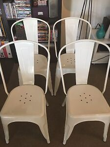 White Worx chairs x 4 Naremburn Willoughby Area Preview